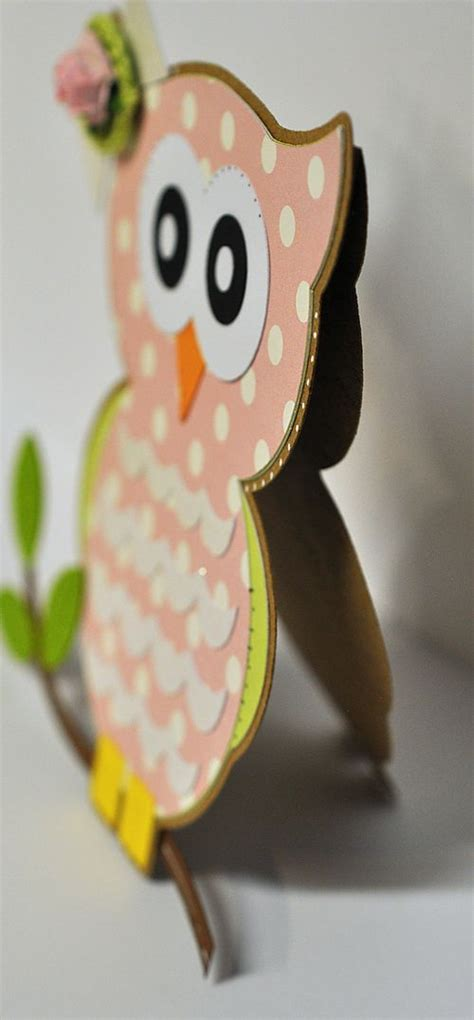 owl card template the cutting cafe owl shaped card