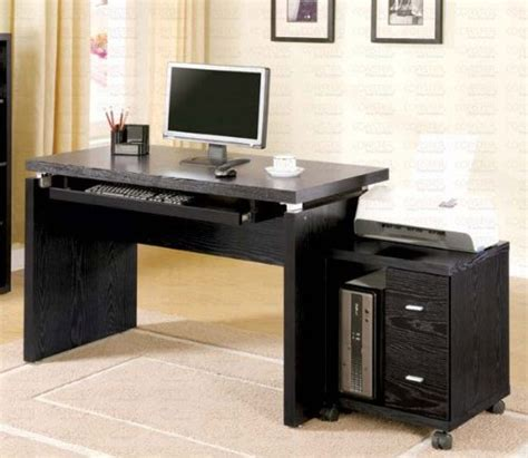 Cheap Black Computer Desk Black Friday Computer Desk With Mobile Computer Stand In Black Finish Cheap Cheap Price 2012