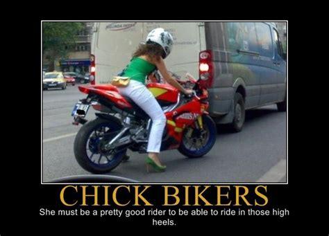 Biker Chick Meme - motorcross fathead