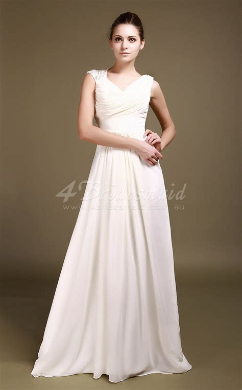 White Floor Length Dresses by Floor Length White Dress Dress Ty