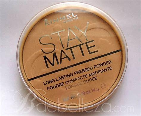 Bedak Rimmel Stay Matte polvo compacto matificante stay matte de rimmel