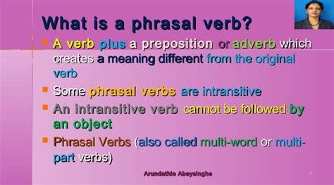 what are phrasal verbs