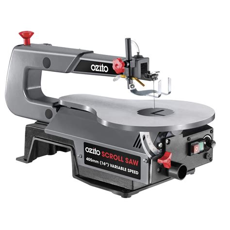 ozito bench saw ozito 120w 405mm scroll saw i n 6290228 bunnings warehouse