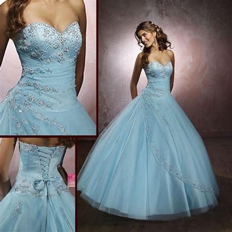 a blue wedding dress baby blue wedding dresses oasis amor fashion
