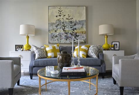 Pinterest Pictures Of Yellow End Tables With Gray yellow and blue rooms transitional living room