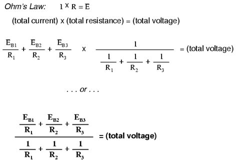 formula to find current through a resistor millman s theorem revisited dc network analysis electronics textbook