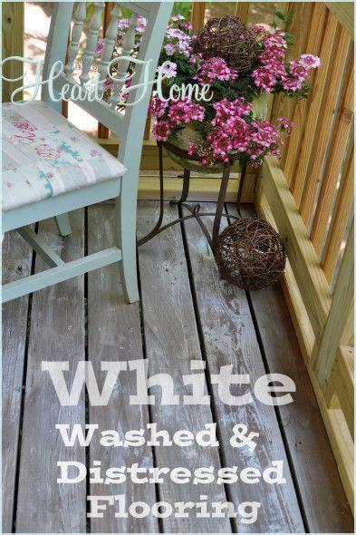 white washed floors ideas  pinterest white