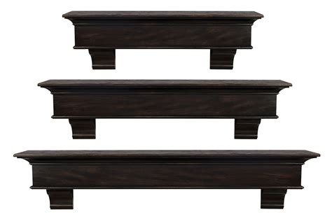 briarcliff wood mantel shelves fireplace mantel shelf