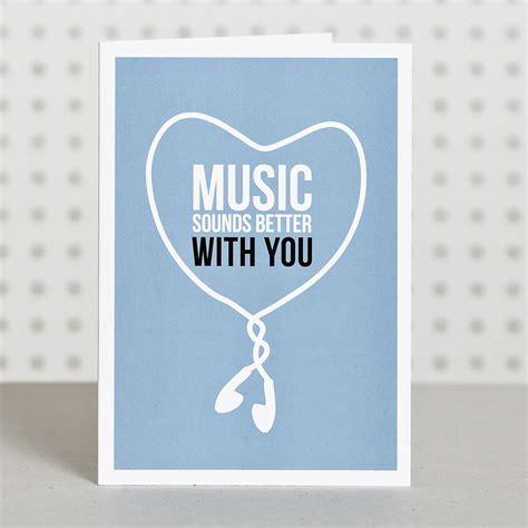 printable birthday cards music music lover anniversary card doodlelove