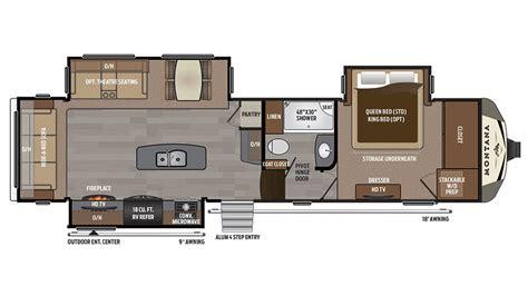 montana fifth wheel floor plans keystone montana 3160rl 5th wheel