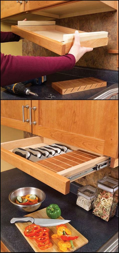 love these kitchen gadget storage solutions considering best 25 knife storage ideas on pinterest magnetic knife