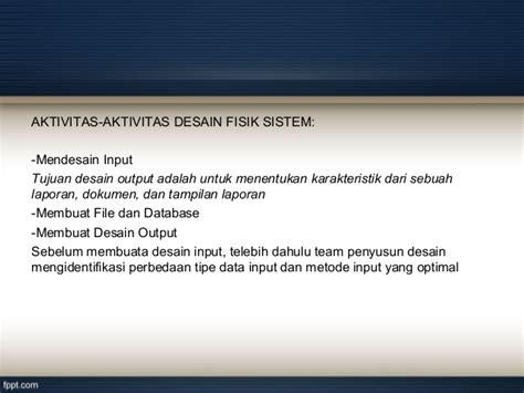desain database sistem informasi akuntansi sistem informasi akuntansi