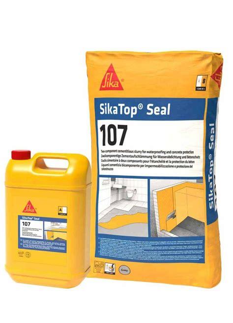 sikatop seal 107 mortar waterproofing sika nigeria
