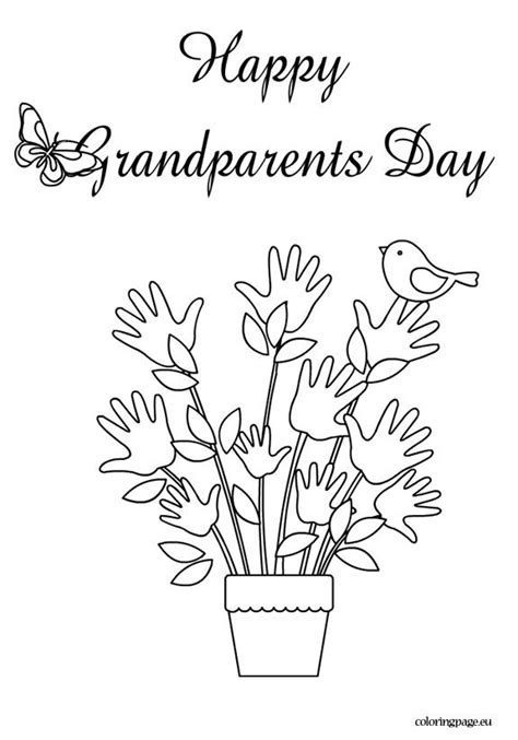 grandparents day coloring pages preschool 12 grandparents day coloring page print color craft