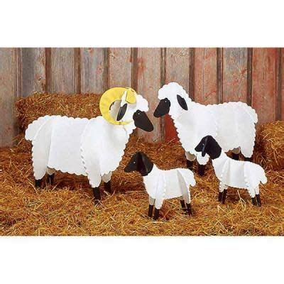 cardboard sheep template sheep paper plan creche festival ps