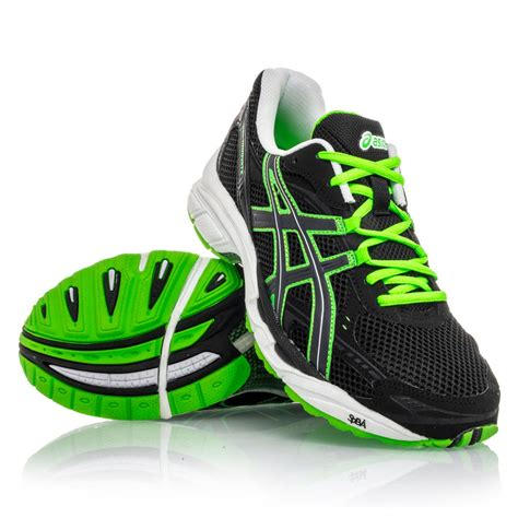 black and green running shoes asics gel innovate 3 mens running shoes black green