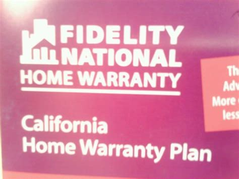 photos for fidelity national home warranty yelp