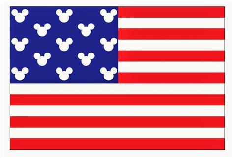 Patriotic Decorating Ideas by My Disney Life Free Mickey Flag Printable
