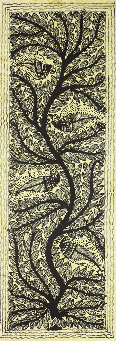 biography tree hindi tree of life indian traditional painting on handmade paper