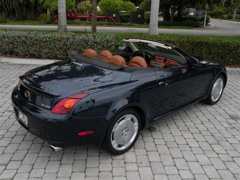 lexus sc430 for sale florida 2003 lexus sc 430 convertible for sale in fort myers fl