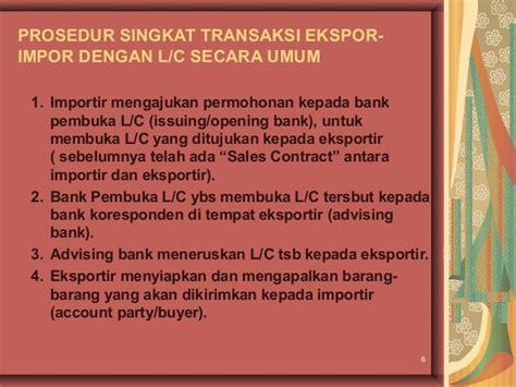 Hubungan Letter Of Credit Dengan Sales Contract Ekspor Impor Dengan Letter Of Credit