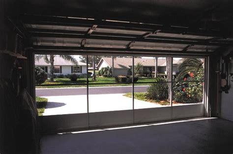 Diy Garage Screen Door by Garage Door Screen Panels For Better Function Your Garage