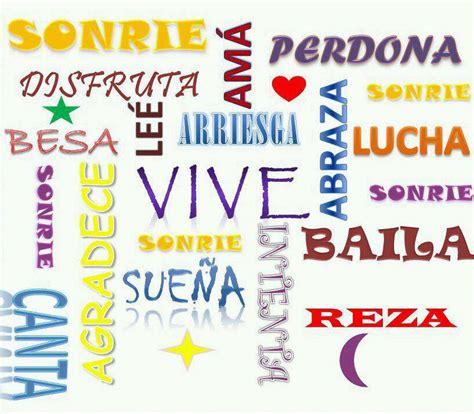 imagenes y palabras positivas palabras positivas imagenes y carteles