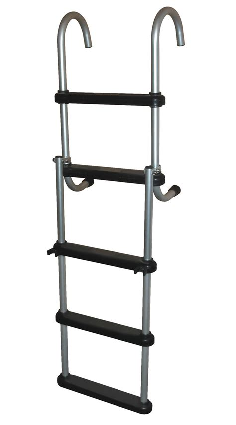 pontoon steps 5 step removable pontoon ladders 5 step aluminum folding