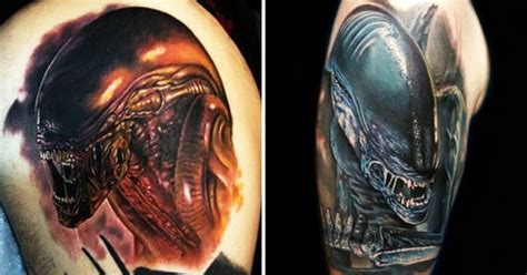 queen xenomorph tattoo 8 excellent xenomorph tattoos tattoodo