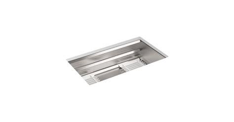 kohler prolific undermount sink k 5540 prolific mount stainless steel sink with
