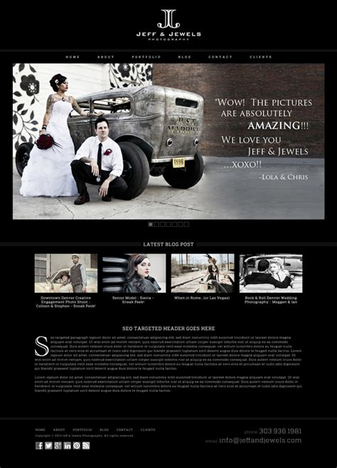 web layout branding full branding package for photography company featured on