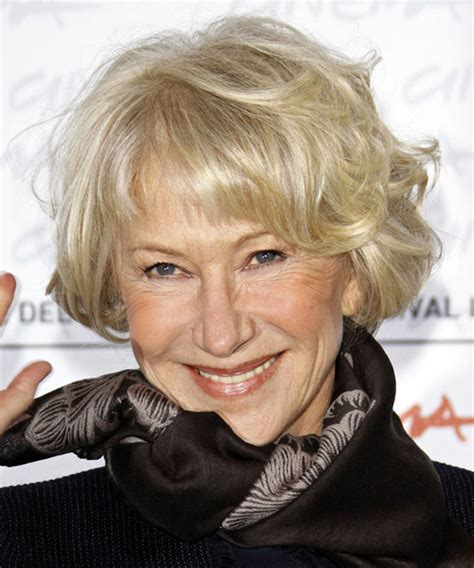 hairstyles with wave hairnfor 60 helen mirren hairstyles for 2017 celebrity hairstyles by