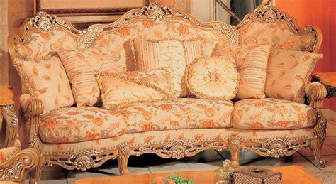 floral print couches traditional peach floral print sofa with ornate wood