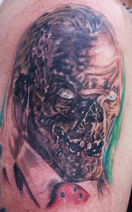 human canvas tattoo crypt keeper by justin mariani tattoos