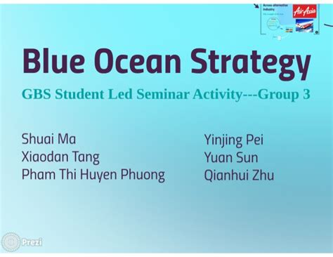 Teaching Module Lecture Slides Blue Ocean Strategy Blue Strategy Ppt