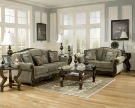 Livingroom Furniture Set Ashley Furniture Martinsburg Meadow Living Room Set Sofa