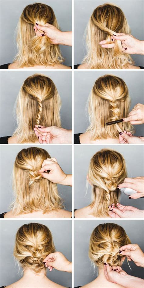 easy hairstles for court inspiration coiffures cheveux courts