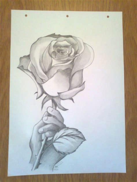 imagenes de flores sombreadas corazones para dibujar con flores con lapis imagui
