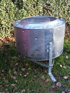 pit made from washing machine drum easy pit pits and washing machine