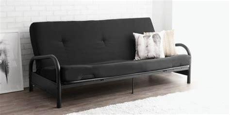 black metal futon walmart mainstays black metal frame futon with 6 inch mattress