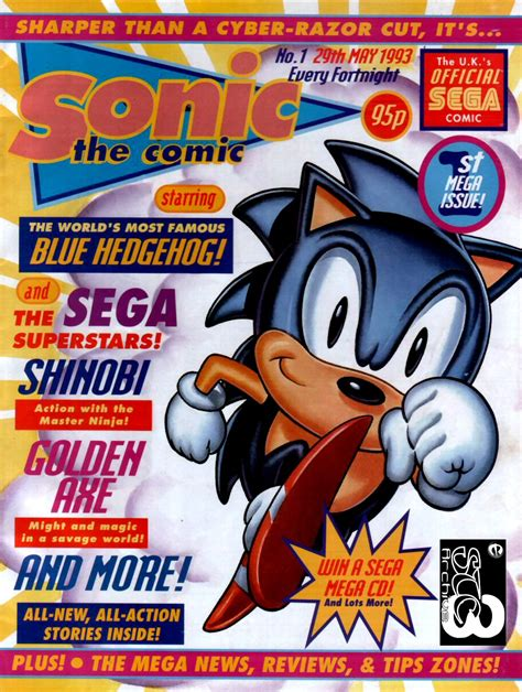 emuparadise uk sonic the comic issue no 001