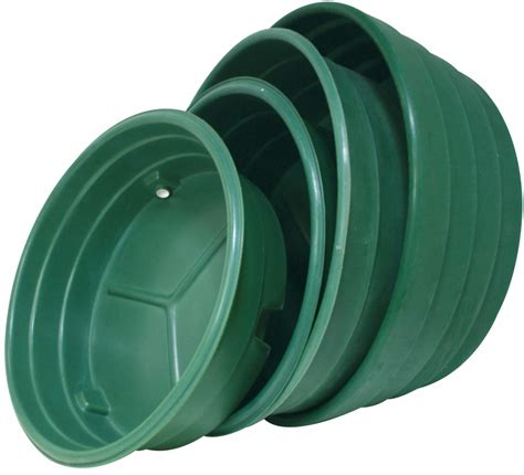 bac a eau circulaire polyethylene