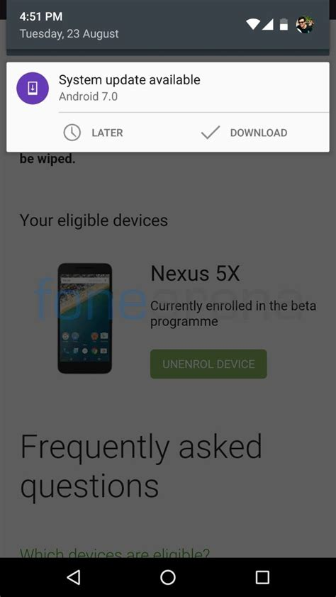 Android Update 7 0 by How To Get Android 7 0 Nougat Ota Update Instantly For