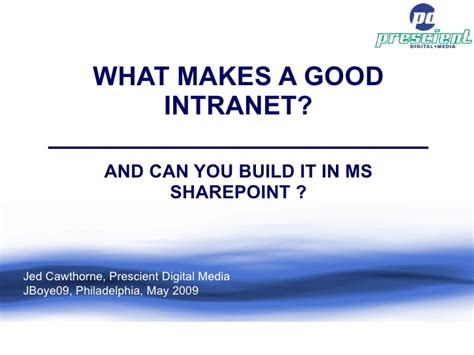 what makes a good home what makes a good intranet