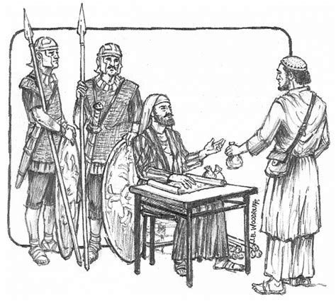 coloring page jesus calls matthew profiles of faith matthew from serving mammon to