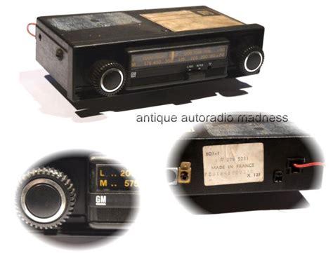 1980 1981 Audio Radios And Audio opel 1980 vintage car radio