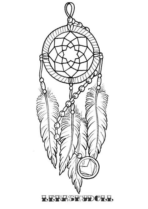 Pin by Roberto on rob | Dream catcher coloring pages