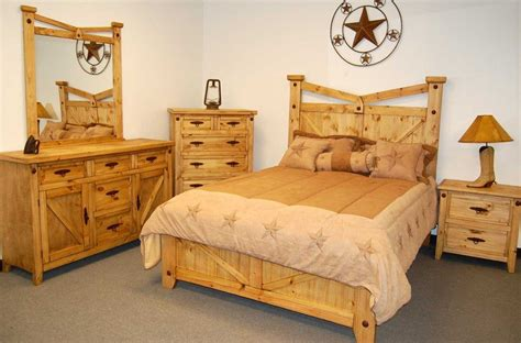 Best Wood For Furniture by Western Rustic Bedroom Furniture The Best Wood Furniture