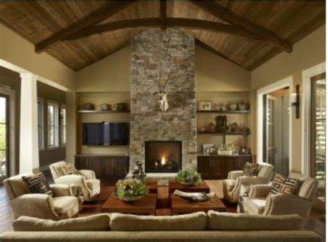 great room images  pinterest fire places