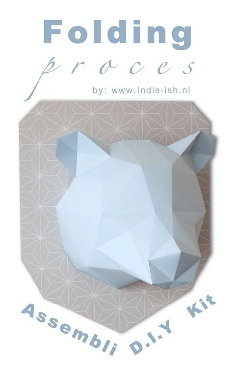 Paper Folding 3d Software - vouw instructie d i y kit assembli origami folding kit